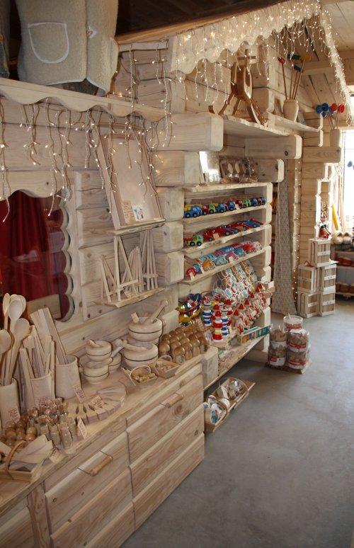 Boutique bois à Saint-Bonnet-le-Froid