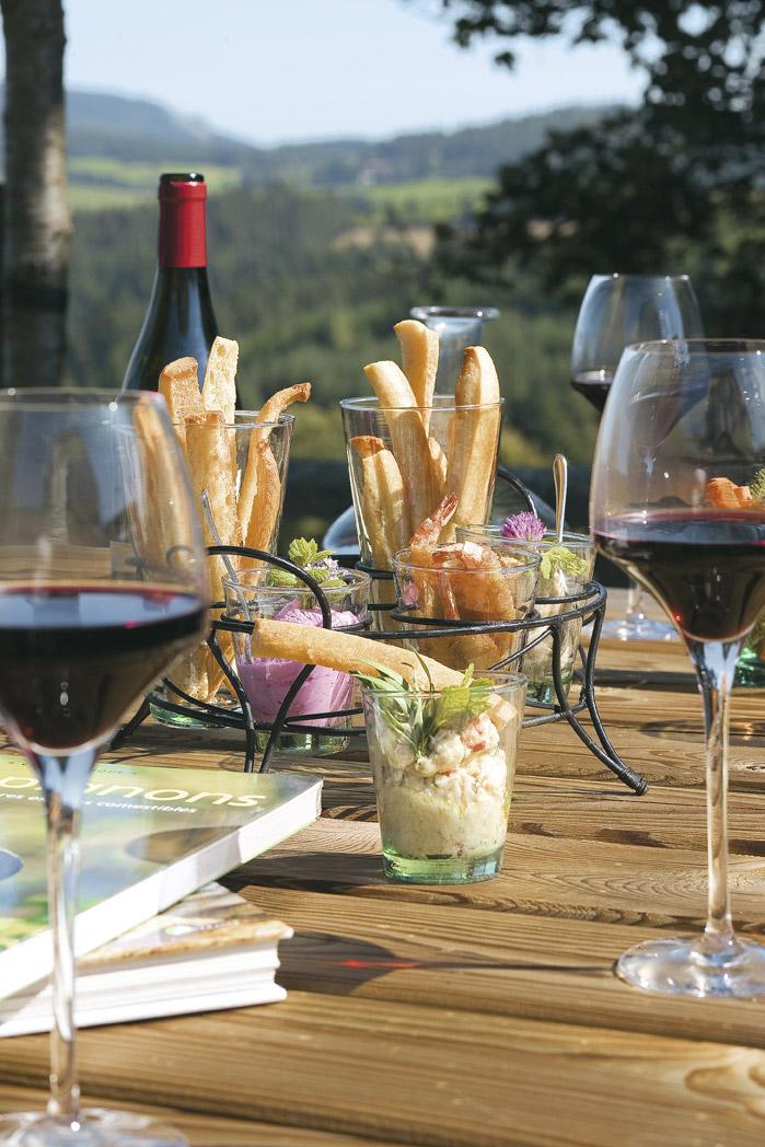 Déjeuner gourmand à l'hôtel Le fort du pré à Saint-Bonnet-le-Froid