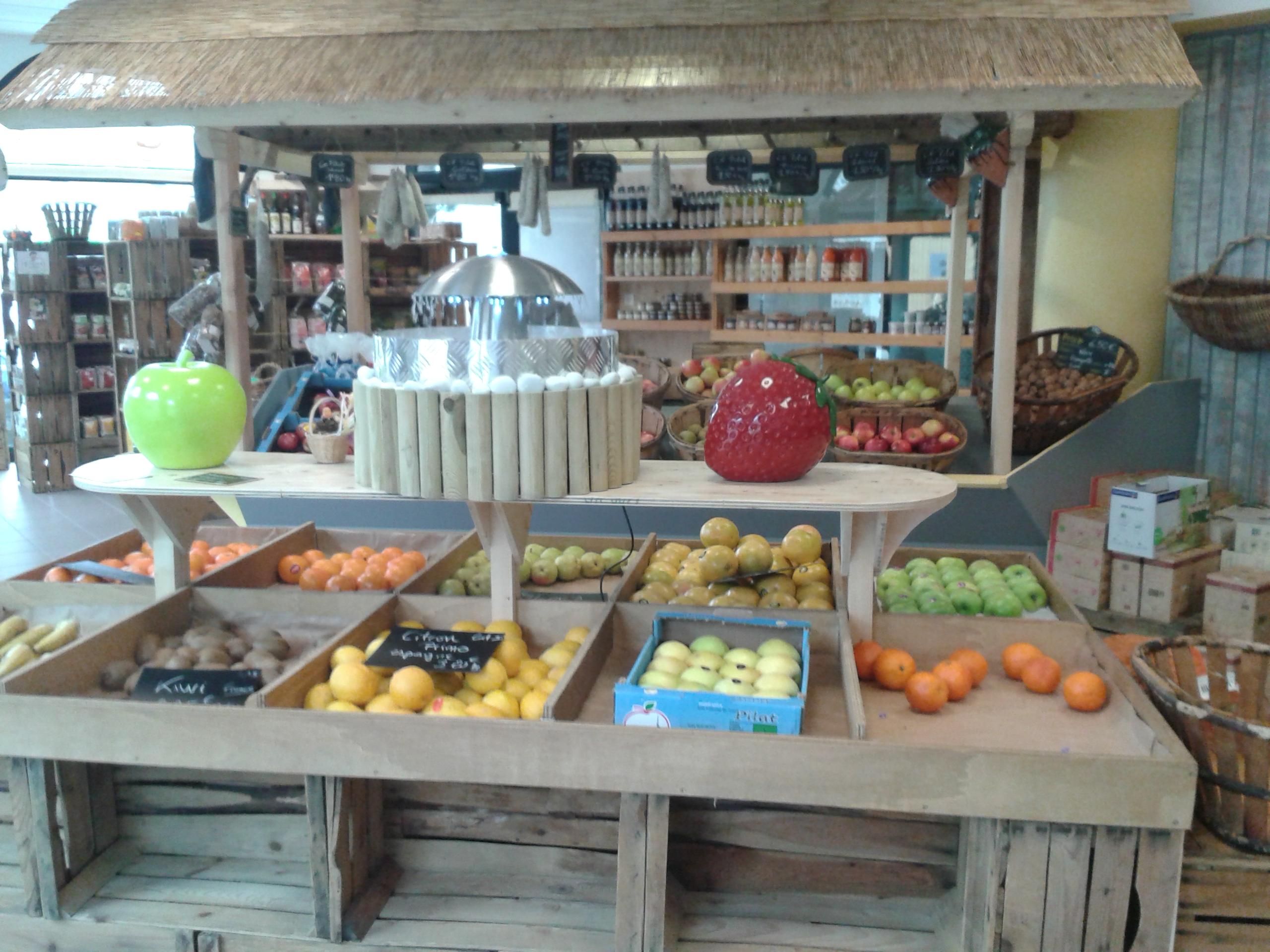 Fruits et légumes, spécialités de champignons frais et de fruits rouges à Saint-Bonnet-le-Froid