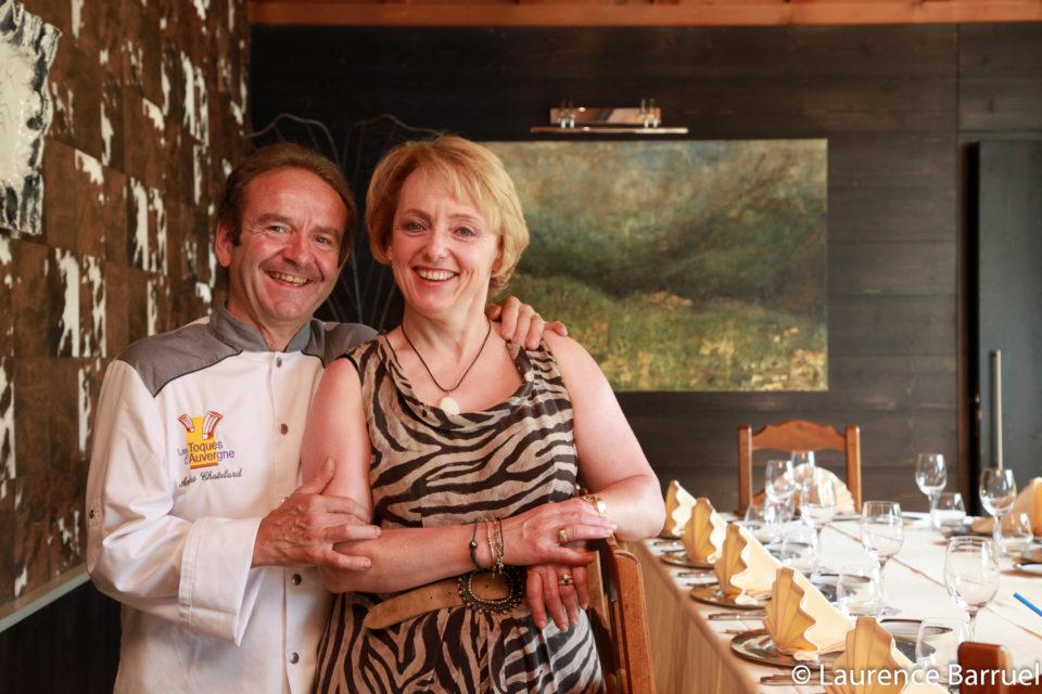 André et Viviane Chatelard Restaurant à Saint-Bonnet-le-Froid