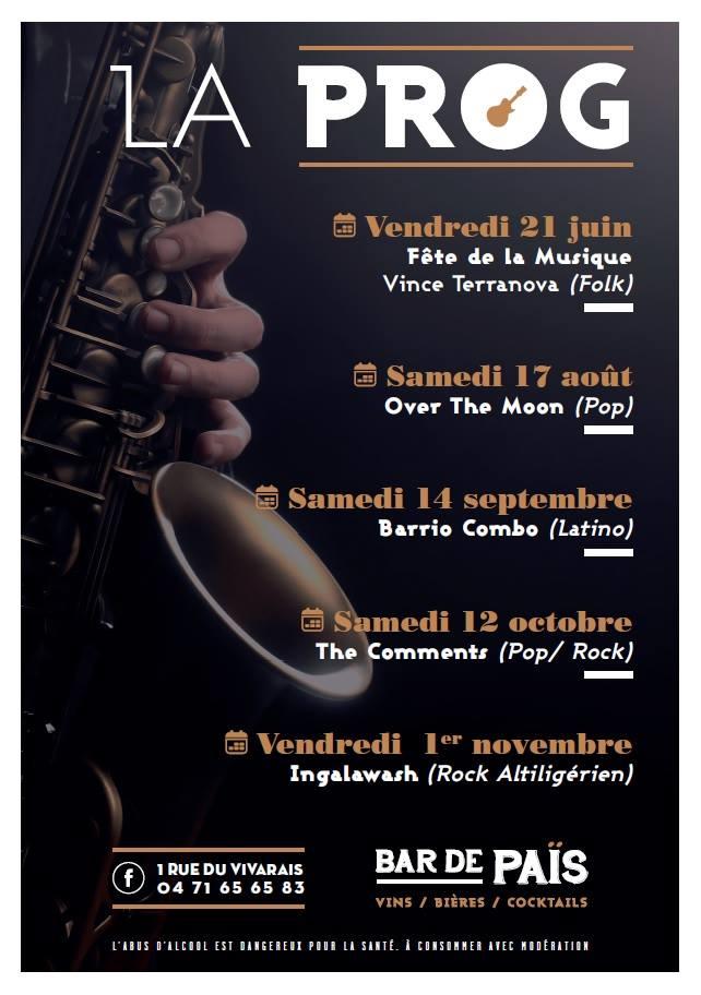 concerts BAR DE PAIS 2019